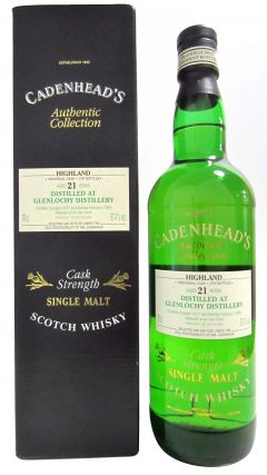 Glenlochy (silent) - Cadenhead's Authentic Collection - 1977 21 year old Whisky