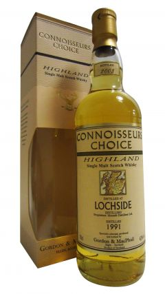 Lochside (silent) - Connoisseurs Choice - 1991 12 year old Whisky