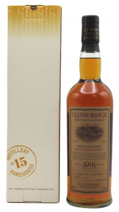 Glenmorangie - Missouri Oak Reserve - 1991 11 year old Whisky