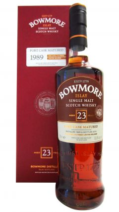 Bowmore - Port Cask Matured - 1989 23 year old Whisky