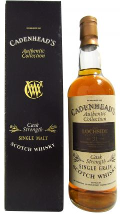 Lochside (silent) - Cadenhead's Authentic Collection - 1962 31 year old Whisky