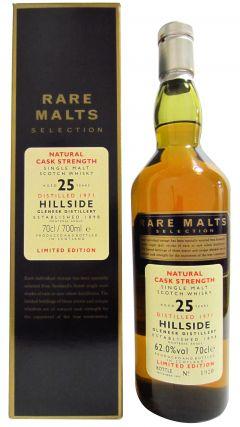 Hillside (silent) - Rare Malts - 1971 25 year old Whisky