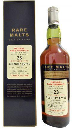 Glenury Royal (silent) - Rare Malts - 1971 23 year old Whisky