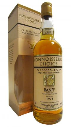 Banff (silent) - Connoisseurs Choice - 1974 23 year old Whisky