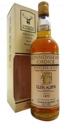 Glen Albyn (silent) - Connoisseurs Choice - 1972 25 year old Whisky
