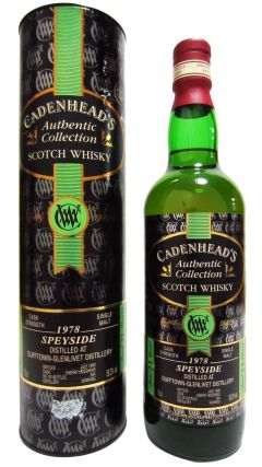 Dufftown - Cadenhead's Authentic Collection - 1978 21 year old Whisky