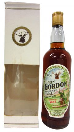 Macallan - Glen Gordon Single Malt - 1957 Whisky
