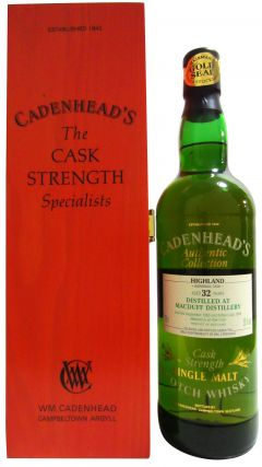 Macduff - Cadenhead's Authentic Collection - 1965 32 year old Whisky