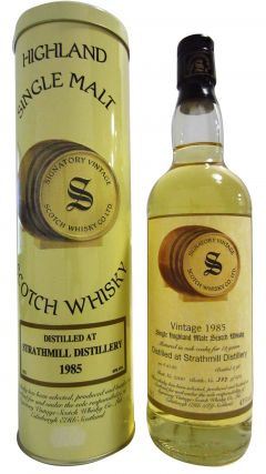 Strathmill - Signatory Vintage - 1985 12 year old Whisky