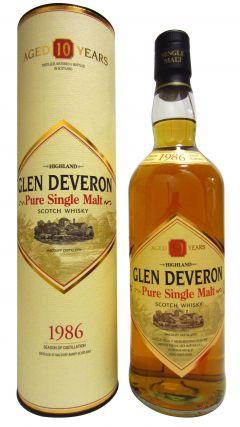 Glen Deveron - Single Malt Vintage  - 1986 10 year old Whisky