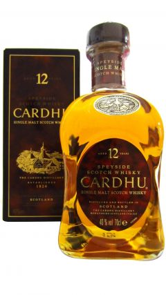 Cardhu - Single Malt Scotch (old bottling) 12 year old Whisky