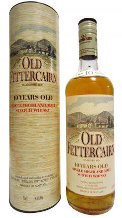 Fettercairn - Old Fettercairn Single Highland (old bottling) 10 year old Whisky
