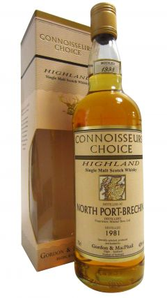 North Port (silent) - Connoisseurs Choice - 1981 17 year old Whisky