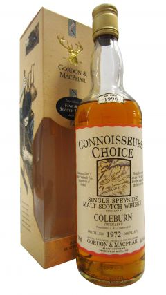 Coleburn (silent) - Connoisseurs Choice - 1972 24 year old Whisky