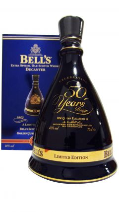 Bells - Queen Elizabeth II Golden Jubilee  8 year old Whisky