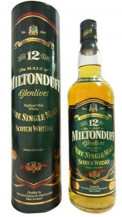 Miltonduff - Pure Single Malt (old bottling) 12 year old Whisky