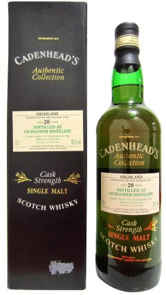 Inchgower - Cadenhead's Authentic Collection - 1977 20 year old Whisky