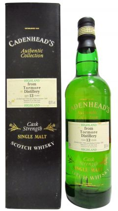 Tormore - Cadenhead's Authentic Collection - 1984 13 year old Whisky