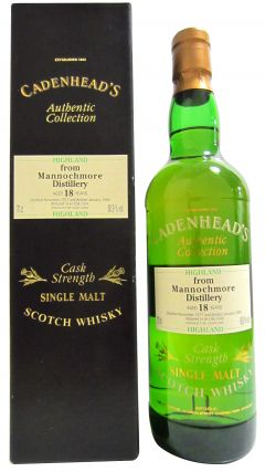 Mannochmore - Cadenhead's Authentic Collection - 1977 18 year old Whisky