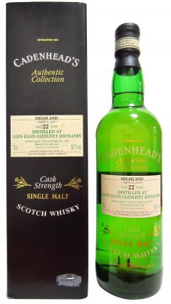 Glen Elgin - Cadenhead's Authentic Collection - 1975 22 year old Whisky
