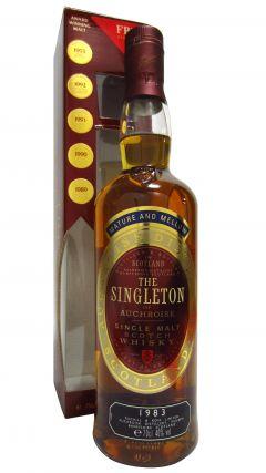Auchroisk - The Singleton - 1983 10 year old Whisky