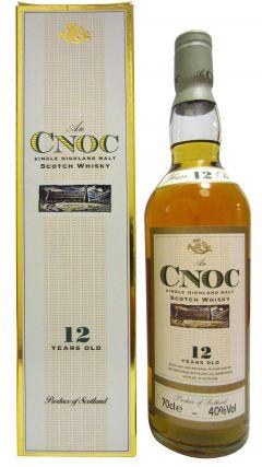 anCnoc - Single Higland Malt (old bottling) 12 year old Whisky