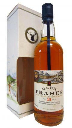 Secret Highlands - Glen Fraser Malt Scotch 15 year old Whisky