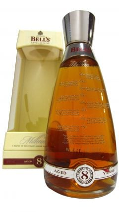 Bells - Millennium Decanter 8 year old Whisky