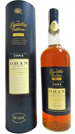 Oban - Double Matured Limited Edition - 1984 Whisky