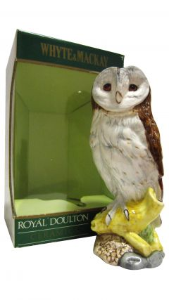 Whyte + Mackay - Royal Doulton Ceramic Barn Owl Whisky