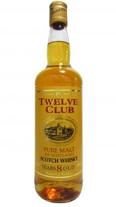 Blended Whisky - Twelve Club Pure Malt 8 year old Whisky