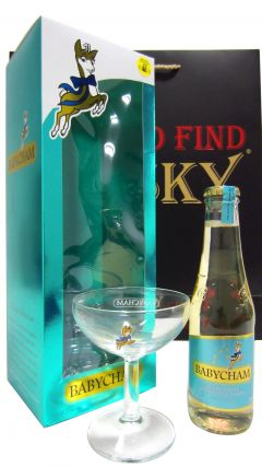 Champagne - Babycham Glass & 20cl Bottle Gift Set (Hard To Find Whisky Edition) Whisky