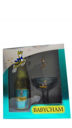 Champagne - Babycham Glass & 20cl Bottle & Necklace Gift Set Whisky