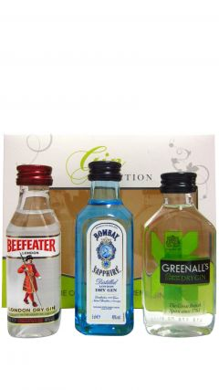 Gin - Bombay Sapphire, Beefeater & Greenall's Gin Gift Set Whisky