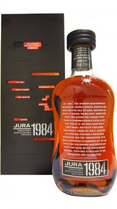 Jura - The Famous George Orwell - 1984 30 year old Whisky