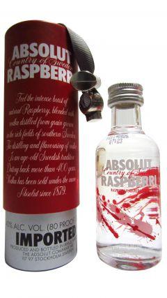 Vodka - Absolut Raspberry 5cl Miniature Gift Set Whisky