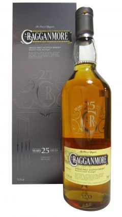 Cragganmore - Limited Edition 25 year old Whisky