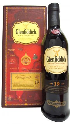 Glenfiddich - Age Of Discovery Red Wine Cask Finish 19 year old Whisky