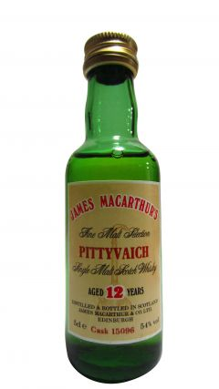 Pittyvaich (silent) - James Macarthur's Miniature 12 year old Whisky