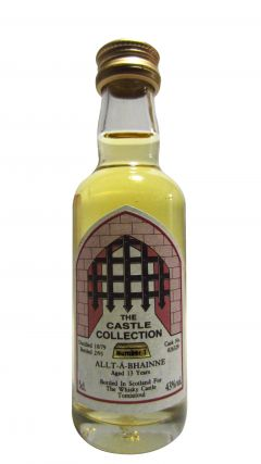 Allt-a-Bhainne - The Castle Collection Miniature - 1979 13 year old Whisky