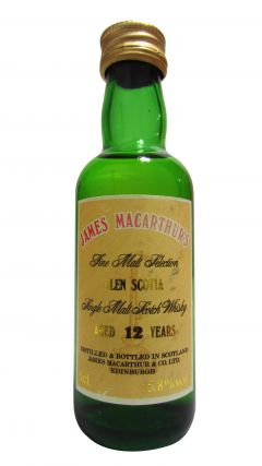 Glen Scotia - James Macarthur's Miniature 12 year old Whisky