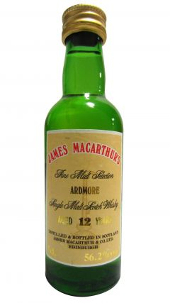 Ardmore - James Macarthur's Miniature 12 year old Whisky