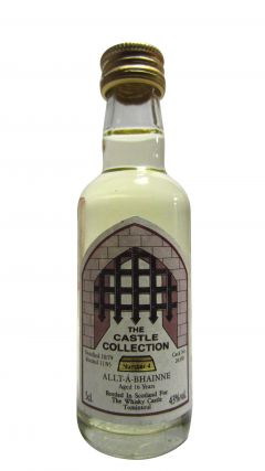 Allt-a-Bhainne - The Castle Collection Miniature - 1979 16 year old Whisky