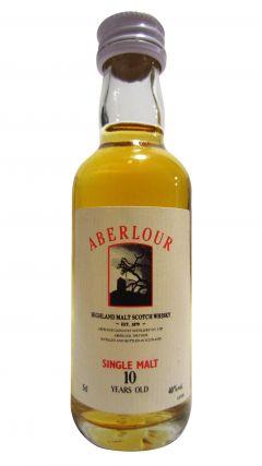 Aberlour - Single Highland Malt Miniature 10 year old Whisky
