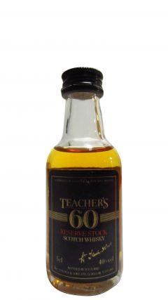 Teacher's - Reserve Stock 60 Miniature Whisky