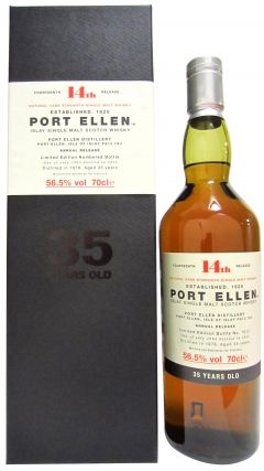 Port Ellen (silent) - 14th Release - 1978 35 year old Whisky
