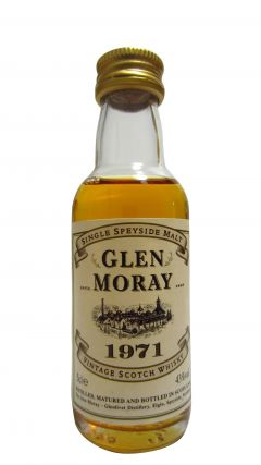 Glen Moray - Speyside Single Malt Miniture - 1971 Whisky