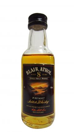 Blair Athol - Single Malt Miniture 8 year old Whisky