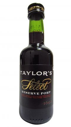 Port - Taylor's Select Reserve Miniature Whisky