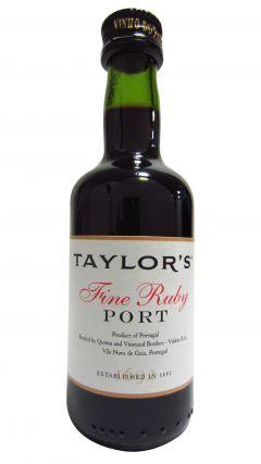 Port - Taylor's Fine Ruby Miniature Whisky